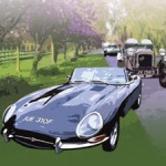 The 4th annual Classic car show and Jewellery Studio open day at Fairclough Hall Farm